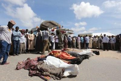 Des civils tués par les forces américaines et somaliennes