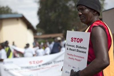 Campagne pour stopper les maladies non transmissibles