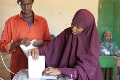 Voting in Somaliland (File photo)