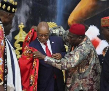 South African President Jacob Zuma Receives Imo Merit Award in Nigeria
