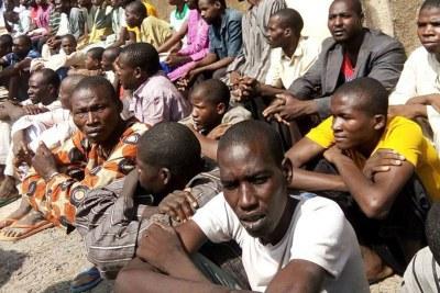 Boko Haram suspects.