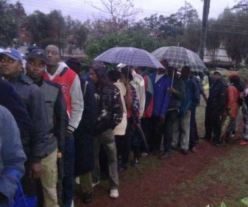 Stations Open in Kenya's Repeat Presidential Election