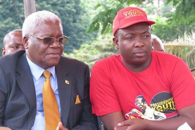 Left: Ignatius Chombo and Kudzanayi Chipanga, right. (file photo).