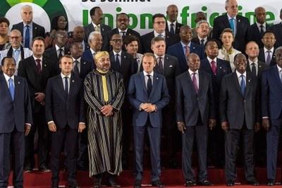 Le président Kagame et d'autres chefs d'État et de gouvernement lors du 5e sommet Union africaine-Union européenne - archives
