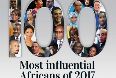 New African Magazine cover, featuring 2017's most influential Africans.