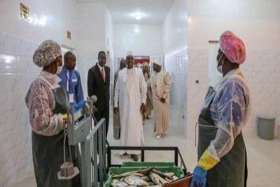 Une usine de congélation de poisson inaugurée à Sandiara