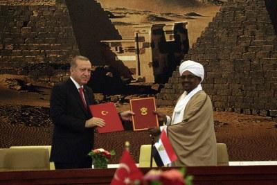 President Erdogan Visits Sudan