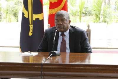 President of Angola, João Lourenço (file photo).