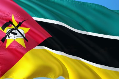 Mozambique flag.