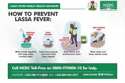 Lassa fever public health advisory.
