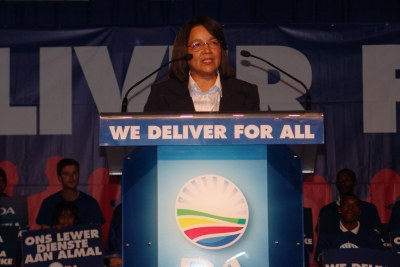 Cape Town Mayor Patricia De Lille (file photo).