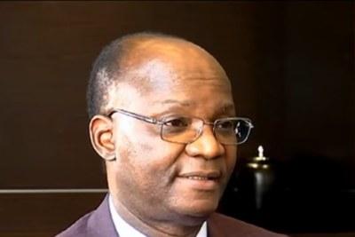 Former education minister Jonathan Moyo (file photo).
