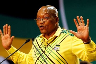 Former president Jacob Zuma (file photo).