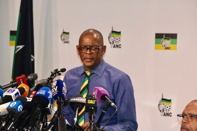 ANC Secretary-General Ace Magashule (file photo).