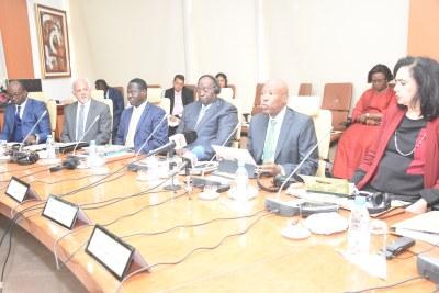 Réunion ordinaire du Bureau de l'Association des Banques Centrales Africaines (ABCA), 23 Février 2018 à Dakar - Sénégal