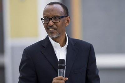 President Paul Kagame.