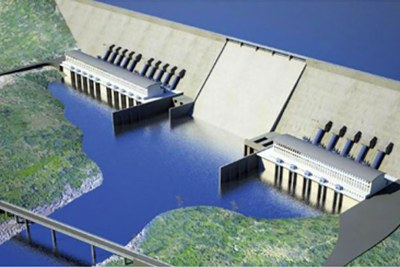 Grand Ethiopian Renaissance Dam.