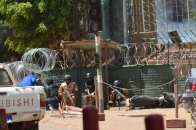 Terrorist attack in Ouagadougou (file photo).