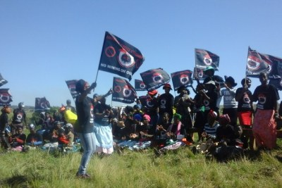 The Amadiba Crisis Committee fought to prevent the mining project from going ahead in Xolobeni (file photo).