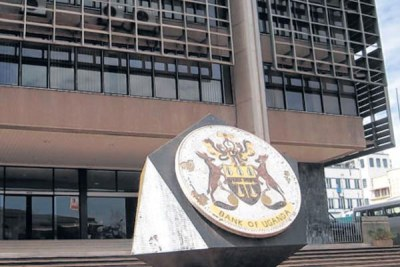 Bank of Uganda (file photo)