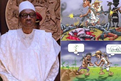 Buhari concerned about farmer-herders killings in Nigeria.