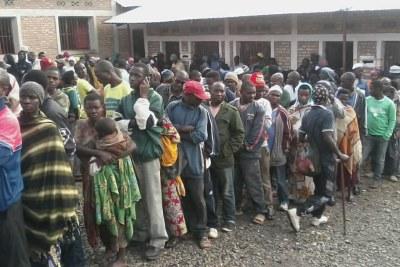 (Photo d'archives) - Des électeurs lors du référendum 2018 au Burundi.