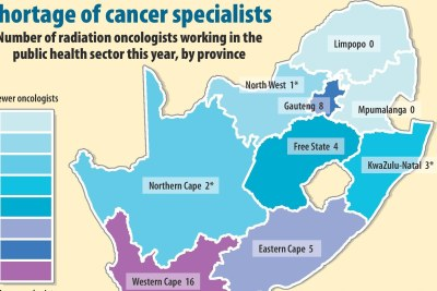 Everyone knows about KZN's cancer crisis but no one is talking about the other provinces that operate on just one radiation oncologist — or less.