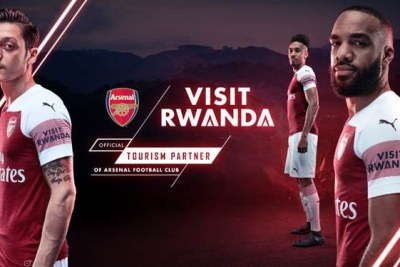 Rwanda is to become the official tourism partner of Arsenal and the Premier League football club's first ever shirt sleeve partner.