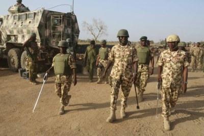 Nigerian army.