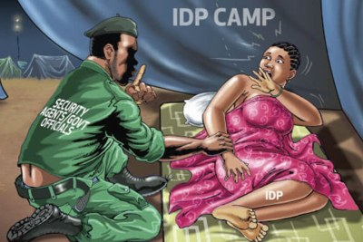 Amnesty International had accused soldiers and members of the civilian joint task force of abusing people, especially women, in internally displaced persons camps in the north-east.