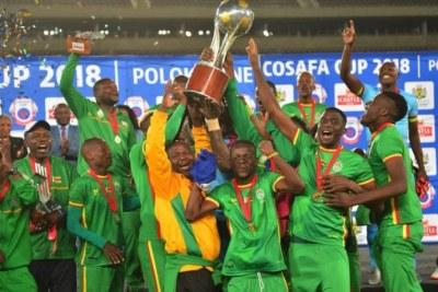 COSAFA CUP 2018: Le Zimbabwe de nouveau sacré !