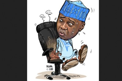 Saraki in the hot seat.