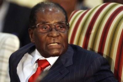 Former president Robert Mugabe (file photo).