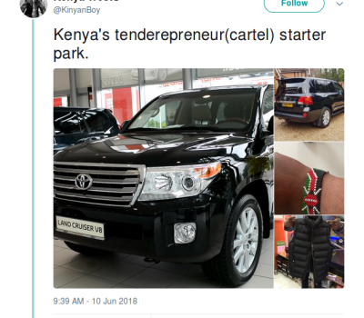 This Kenya Tenderpreneur Starter Pack Will Crack You Up