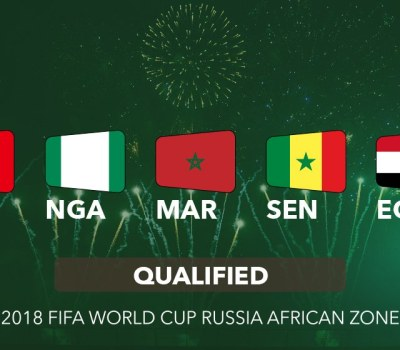 See Africa's Goals at 2018 World Cup