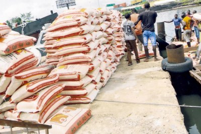 Rice smuggling.