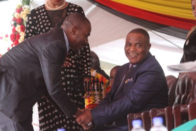 MDC Alliance leader Nelson Chamisa and Vice President Constantino Chiwenga (file photo).