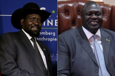 A Step Closer to Unity Govt for South Sudan as Kiir, Machar Meet