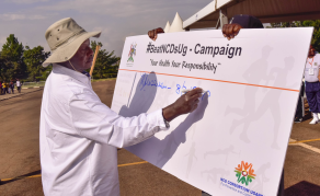 Museveni Walks the Talk In Noncommunicable Diseases Fight