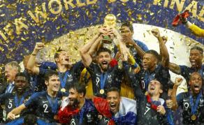 La France championne du monde Russie 2018