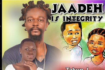 Liberia's premier Hip-Co musician Takun J and features vocalist Ella Mankon Pailey.