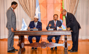 Another Historic Meeting as Somali President Visits Eritrea