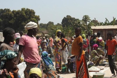 Internally Displaced in CAR (file photo).