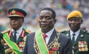 Emmerson Mnangagwa officiellement investi président au Zimbabwe