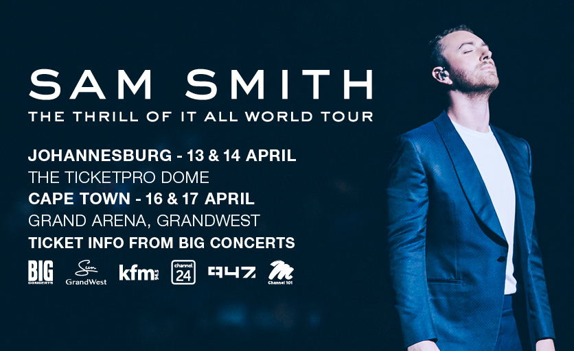 South Africa: Sam Smith Stops Cape Town Show Midway Over 'Strained Voice'