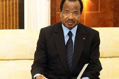 President Paul Biya.