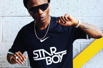 Wizkid and Nike Football released their official collaboration shirt.