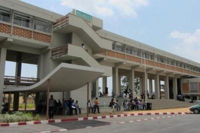 Université Félix-Houphouët-Boigny à Cocody, Abidjan, Côte d'Ivoire.