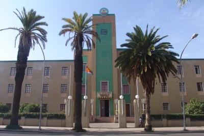 Eritrea's government building in Asmara.