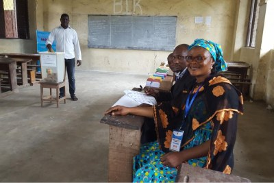 Voting in Cameroon
